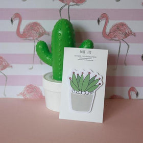 Pot Cactus - Red Post-Its-STATIONERY-PropShop24.com