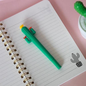 Cactus Pen - Dark Green-STATIONERY-PropShop24.com