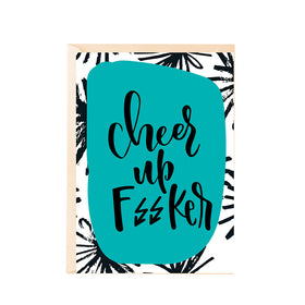 Greeting Card - Cheer Up F//Cker-Stationery-PropShop24.com
