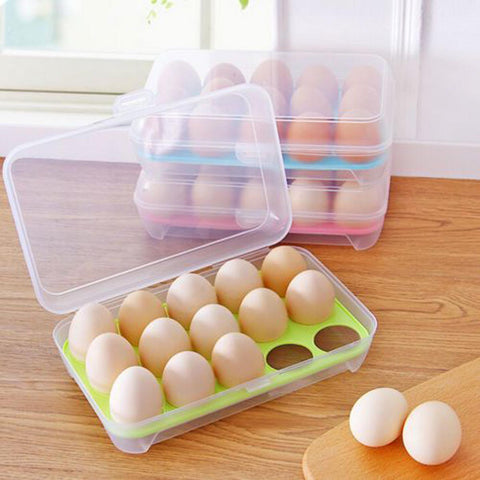 15 Slot Egg Box - Assorted - Assorted-Home-PropShop24.com