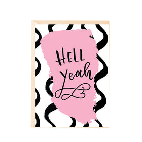 Greeting Card - Hell Yeah!-Stationery-PropShop24.com