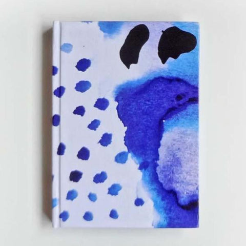 Diary - Washed Dots Diary/Small-Stationery-PropShop24.com
