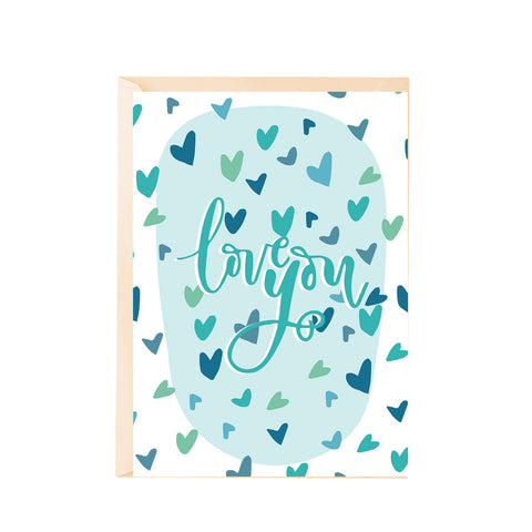 Greeting Card - Love you-PropShop24.com