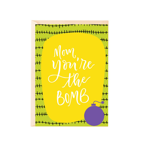Greeting Card - Mom, youÕre the bomb-Stationery-PropShop24.com