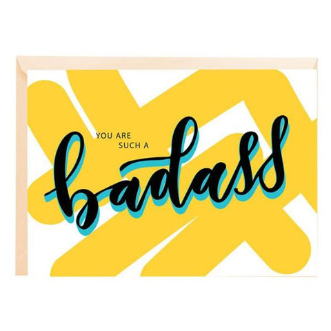Greeting Card - Badass-Stationery-PropShop24.com