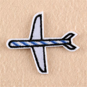 Iron On Patch - Aeroplane-FASHION-PropShop24.com