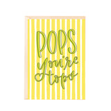 Greeting Card - Pops Youre Tops-Stationery-PropShop24.com