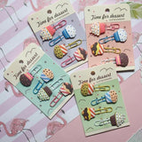 Cupcake Paper Clips - Purple-STATIONERY-PropShop24.com
