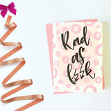 Greeting Card - Rad As F//K-Stationery-PropShop24.com