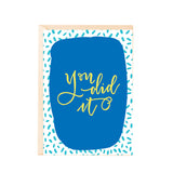 Greeting Card - You Did It!-Stationery-PropShop24.com