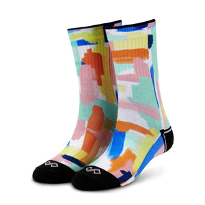 Socks -Fresco Men & Women Crew Length Socks (Small) (Women: India/Uk Shoe: 4 - 7) (Men: India/Uk Shoe Size: 6 - 7)-MEN-PropShop24.com