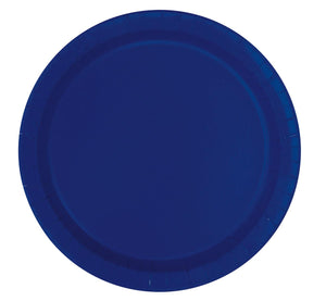 Paper Plates - Plain - Set Of 16 - 9Inch-BAR + PARTY-PropShop24.com