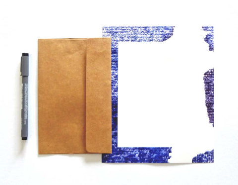 Lettersheets - Purple Wash Letter Papers and Envelopes-Stationery-PropShop24.com