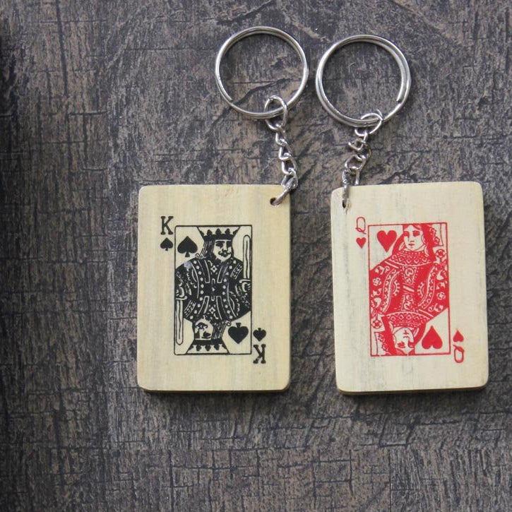 Keyring - King And Queen - Set Of 2-WOMEN-PropShop24.com