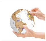 Do it Yourself - Scratch Globe-STATIONERY-PropShop24.com