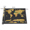 Large Scratch Map-TRAVEL ESSENTIALS-PropShop24.com