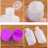 3 In 1 Leak Proof Travel Empty Plastic Liquid Bottle - Assorted-PERSONAL-PropShop24.com