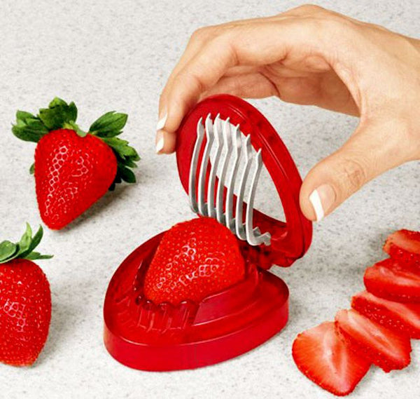 3 Piece Strawberry Slicer-KITCHEN-PropShop24.com