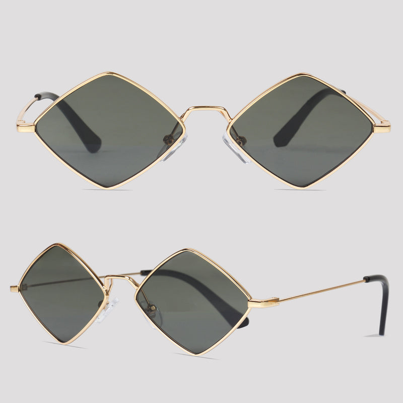 Split - Green - Far Left Sunglasses-WOMEN-PropShop24.com