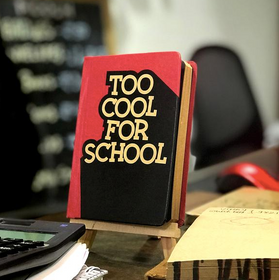 Vintage Notebook - To Cool For School-STATIONERY-PropShop24.com