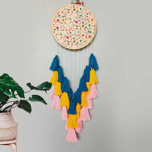 Dreamcatcher Inspired Decor - Floral Board-HOME ACCESSORIES-PropShop24.com