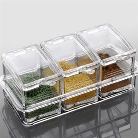 3 Compartment Acrylic Seasoning Organizer-HOME-PropShop24.com