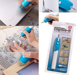 Engraver Pen Tool for Wood Plastic Glass Metal Surfaces-STATIONERY-PropShop24.com