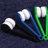 Spectacles Cleaner - Eyeglass Microfiber Brush Tool - Set of 2 - Multicoloured (Assorted)-PERSONAL-PropShop24.com