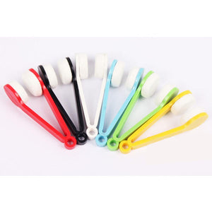 Spectacle Cleaner - Eyeglass Microfiber Brush Tool - Multicoloured (Assorted)-WOMEN-PropShop24.com