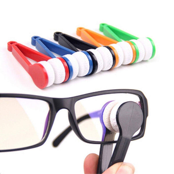 Spectacle Cleaner - Eyeglass Microfiber Brush Tool - Multicoloured (Assorted)-PERSONAL-PropShop24.com