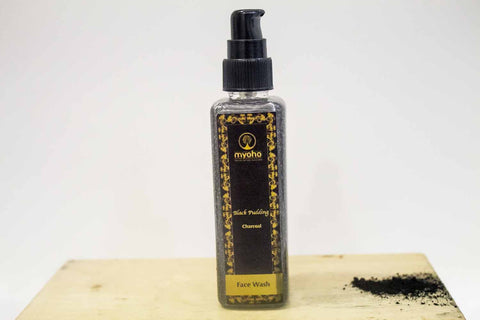 Face Wash - Black Pudding (Charcoal)-Beauty-PropShop24.com