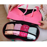 Lingerie Bra Bag Travel Organizer Storage Case - Light Pink-FASHION-PropShop24.com