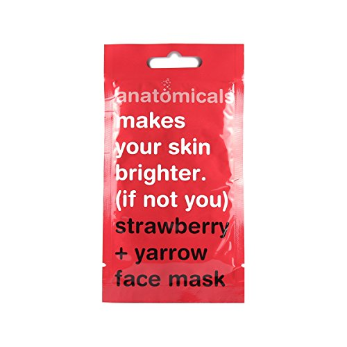 Makes Your Skin Brighter - Strawberry And Yarrow Face Mask - 15ml-WOMEN-PropShop24.com