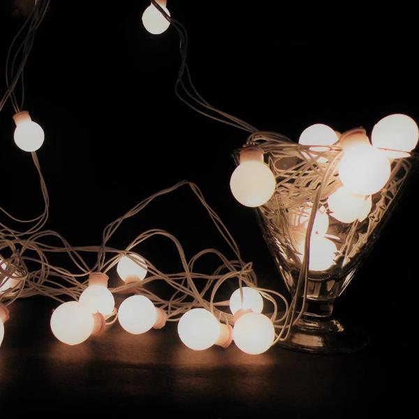 Elegant Small Ball String Lights 8 Meters -HOME-PropShop24.com