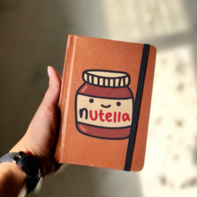 Vintage Notebook - Nutella Jar-STATIONERY-PropShop24.com