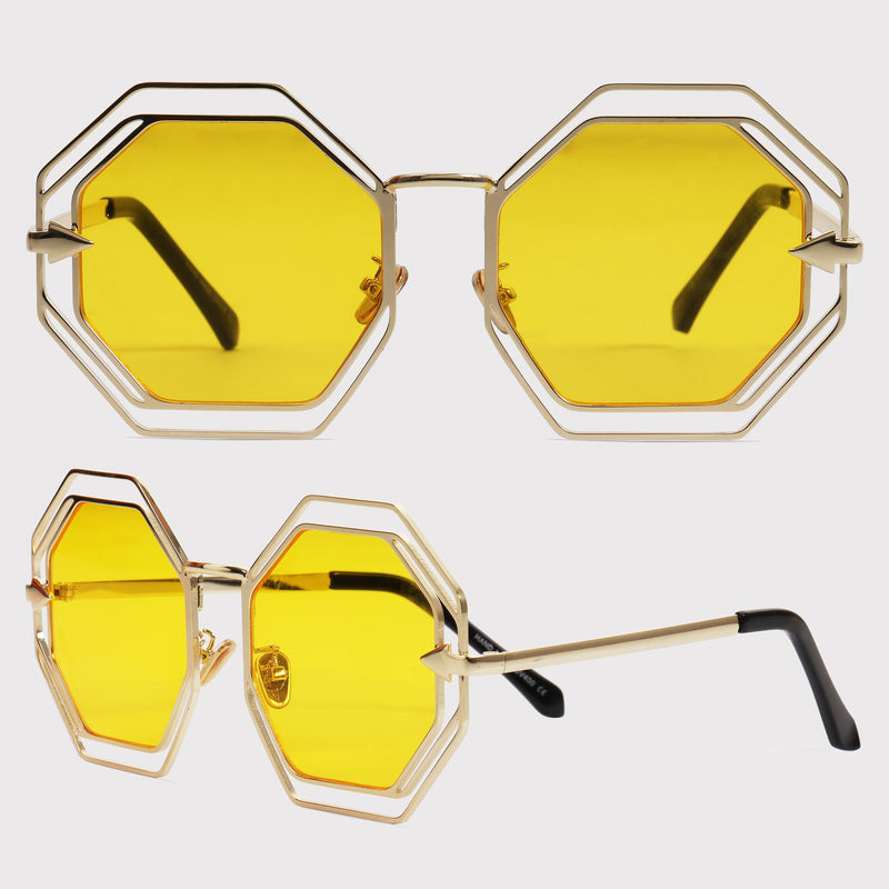 Bali - Yellow - Far Left Sunglasses-WOMEN-PropShop24.com