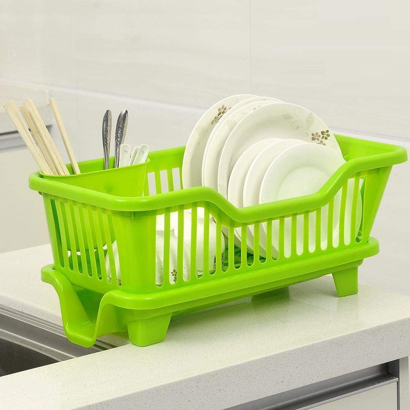 Drying Rack With Cutlery Holder - Single Piece-DINING + KITCHEN-PropShop24.com