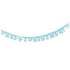 Banner - Zebra Teal-BAR + PARTY-PropShop24.com