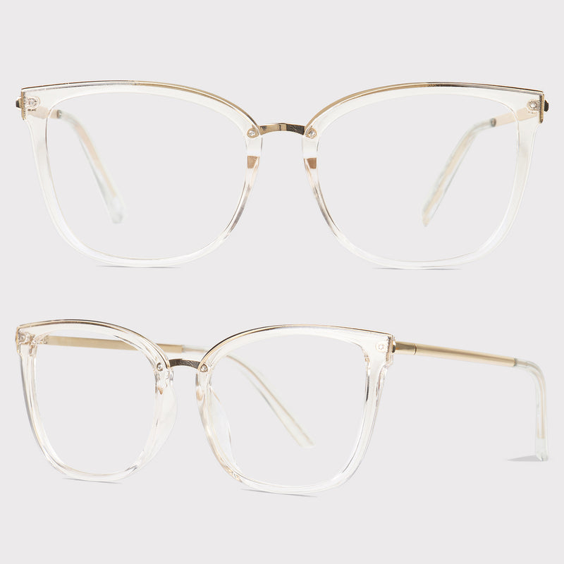 Kingston - Clear - Far Left Reading Glasses-WOMEN-PropShop24.com