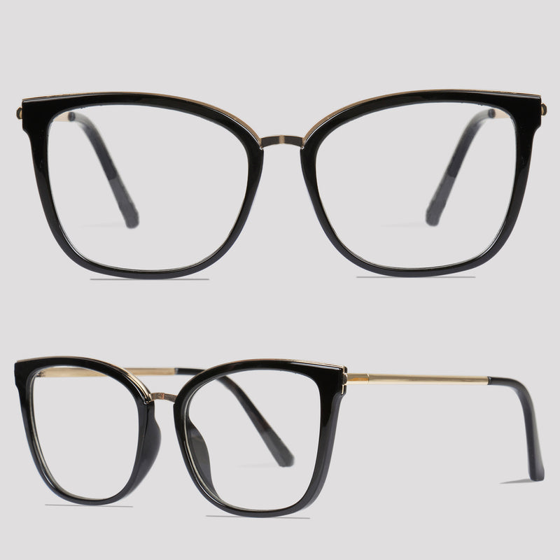 Kingston - Black - Far Left Reading Glasses-WOMEN-PropShop24.com