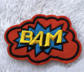 Iron On Patch - Bam-FASHION-PropShop24.com