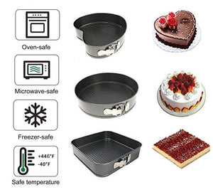 Cake Moulds - Set Of 3-DINING + KITCHEN-PropShop24.com