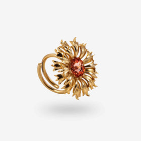 FLORAL RING - PINK-JEWELLERY-PropShop24.com