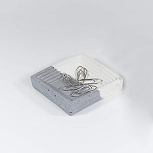 Desk Organizer - Concrete Catchall-DESK ACCESSORIES-PropShop24.com