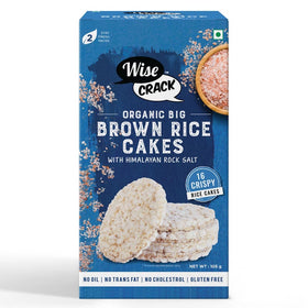 Organic Snack - Big Brown Rice Cakes-SWEETS + DESSERTS-PropShop24.com