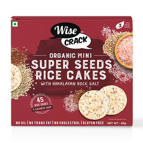 Organic Snack - Super Seeds Rice Cakes-FOOD-PropShop24.com