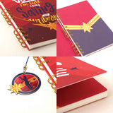 Notebook - Captain Marvel - Wiro-STATIONERY-PropShop24.com