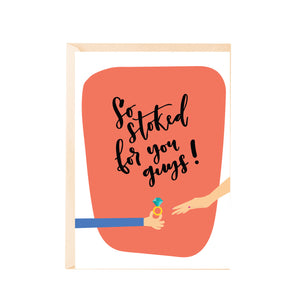 Greeting Card - So Stoked!-GREETING CARDS-PropShop24.com