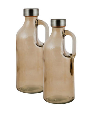 Glass Bottle With Handle And Cap - 500ml-DINING + KITCHEN-PropShop24.com