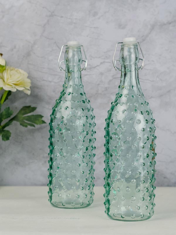 Glass Bottle - Clip Top - 1000ml-DINING + KITCHEN-PropShop24.com
